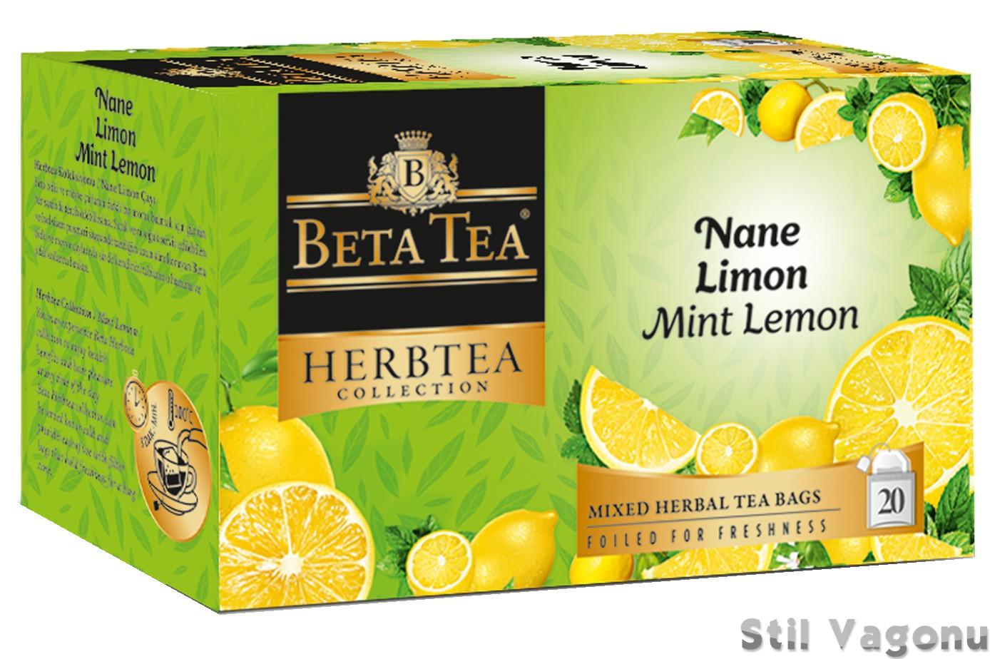 Beta Tea Nane Limon Çayı