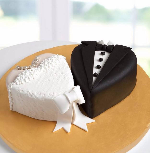 Gelin damat nişan düğün butik pasta