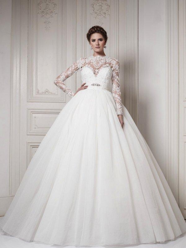 140c3c5fa9ac7 en güzel 2016 Prenses Gelinlik Modelleri   Bir Kadın