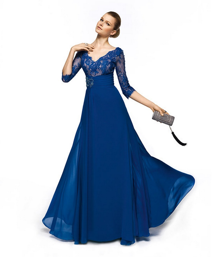 3f0e6fde948a6 mavi Abiye kıyafetler | Bir Kadın
