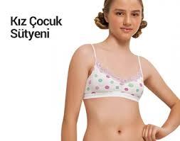 Genç Kız ve Çocuklar İçin İlk Sütyen Modelleri