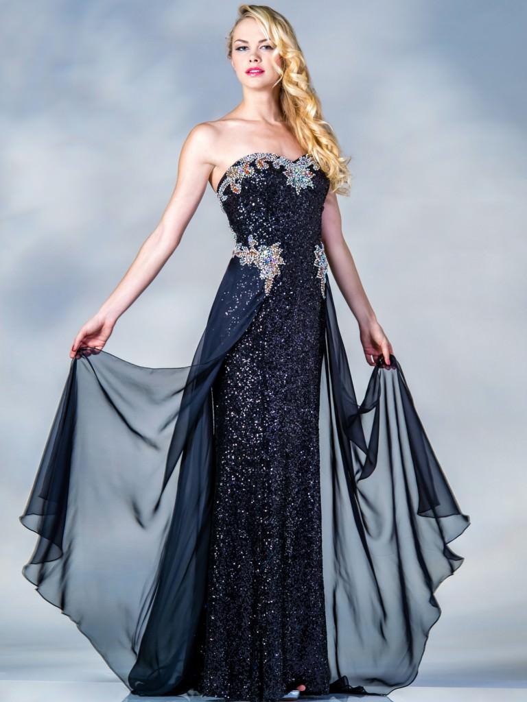 36e80cc6bc07b Tüllü 2016 Modası Transparan Abiye Elbise Modelleri | Bir Kadın